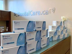 COVID-19 donation from Bathurst Centre Dental Care